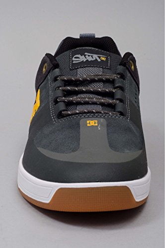 Dc Shoes - Chaussures Skateshoes Homme Lynx Prestige - Taille:one Size Charcoal/Yellow
