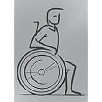 Señal WC Diversamente abile- etiqueta X Puerta Baño Cartel discapacitados