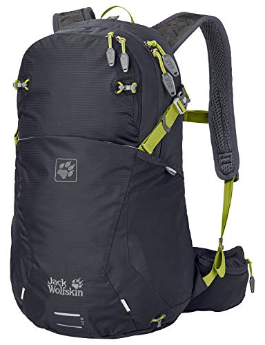 Jack Wolfskin Moab Jam 24 Outdoor Wander Rucksack, Ebony, ONE Size
