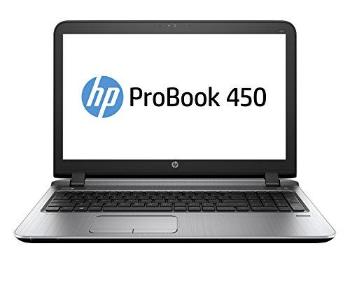 """HP ProBook 450 G3 2.3GHz i3-6100U Intel Core i3 della sesta generazione 15.6"""" 1366 x 768Pixel Nero, Grigio Computer portatile"""