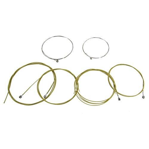 sourcingmap® A406 Ersatz-Stahlsaiten für Akustikgitarren, 6 Stück de