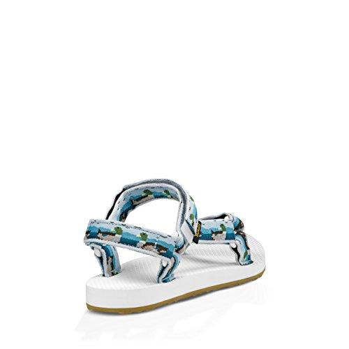 Teva Original Universal W Blanc Bleu Sandale