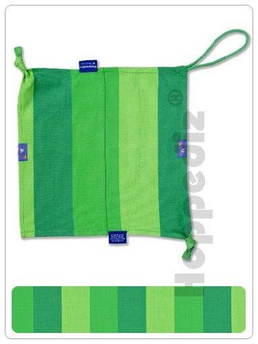 Preisvergleich Produktbild Hoppediz St-lim Schnuffel- und Spucktuch, grün