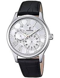 Festina Herren-Armbanduhr Analog Automatik Leder F6848/1