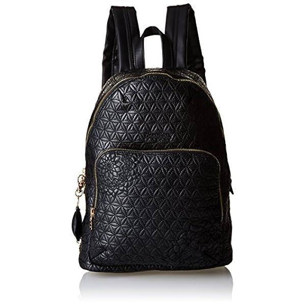 9c1eb5a1f Ofertas para comprar online Bolso mochila Desigual (LIMA CARLOTA, Mochila  Mujer, Negro (2000), 25x34x11 cm (B x H x T))