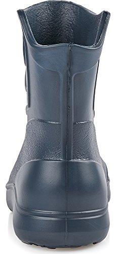 Ladeheid Femme EVA bottes de Caoutchouc KL027D Bleu foncé