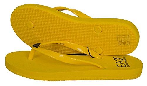 Emporio Armani , Damen Zehentrenner Gelb gelb Rosa