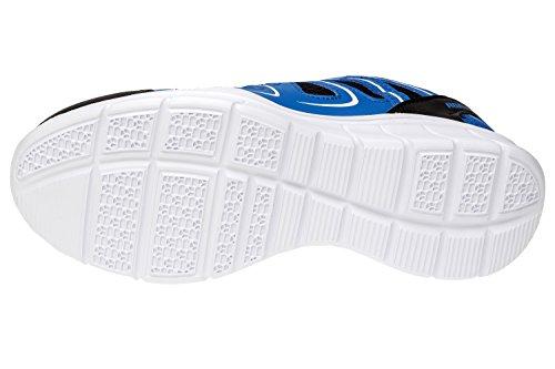 gibra Chaussures de Course Pour Homme Schwarz/Blau