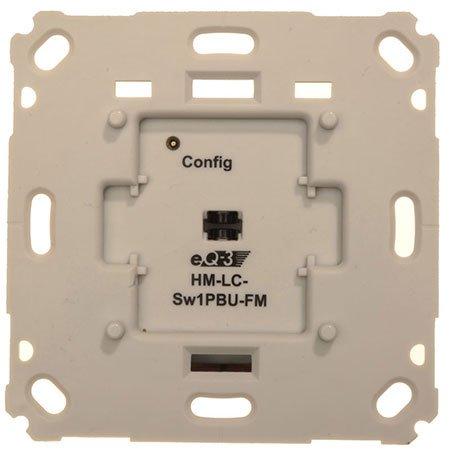 Preisvergleich Produktbild ELV Homematic Komplettbausatz Funk-Schaltaktor für Markenschalter, 1fach Unterputzmontage HM-LC-Sw1PBU-FM, für Smart Home/Hausautomation