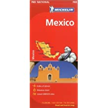 Michelin Map Mexico 765 (Maps/Country (Michelin)) by Michelin Travel & Lifestyle (2012-08-16)