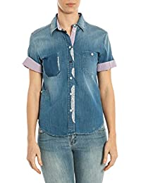 Shirt Top it T Bluse Amazon Camicie 40 E Armani aqnnS0A