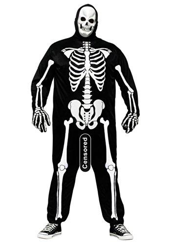Unbekannt Plus Size Skele-Boner Fancy Dress Costume 2X