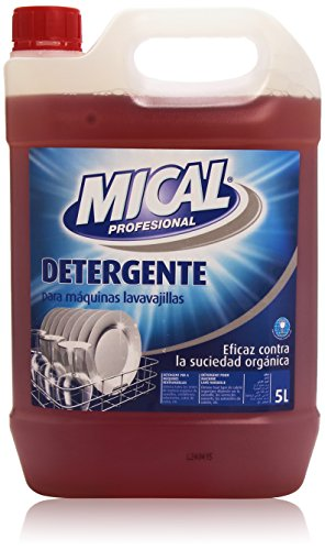 Mical Profesional - Detergente máquinas lavavajillas