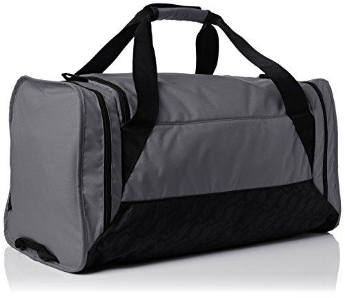 Nike Sporttasche Brasilia 6 grau - schwarz - weiß