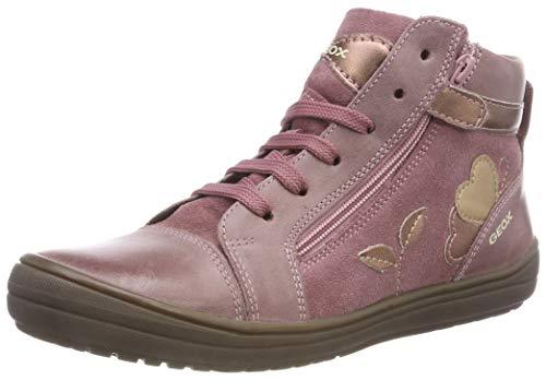 Geox Mädchen J HADRIEL Girl A Hohe Sneaker, (Dk Pink C8006), 29 EU