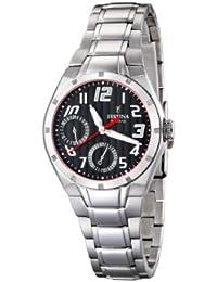 9f5d00834c9f Festina - Plateado   Relojes de pulsera   Mujer  Relojes - Amazon.es