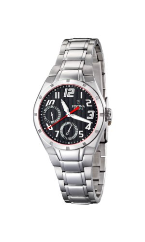 Festina Ladies Multi-Function Watch F16484/2 With Steel Strap