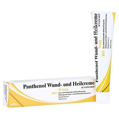 Panthenol Wund- und Heilcreme JENAPHARM 50mg/g Creme 50 Gramm