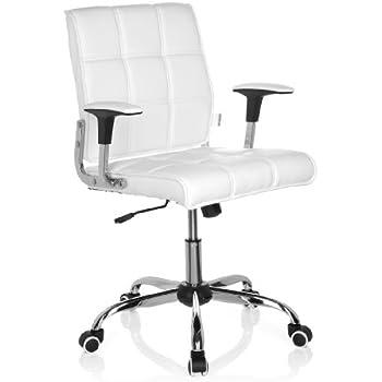 Drehstuhl weiß holz  Designer-Drehstuhl aus PU-Leder / Bürostuhl / Schreibtischstuhl ...