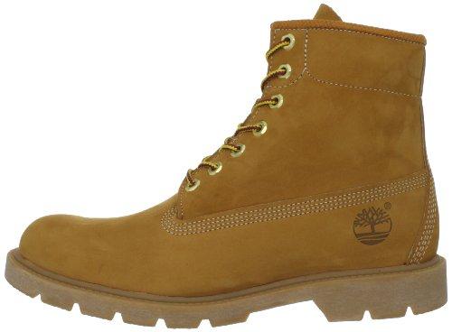 Timberland Men s Six-Inch Basic Boot Wheat Nubuck Nubuck 7 M US