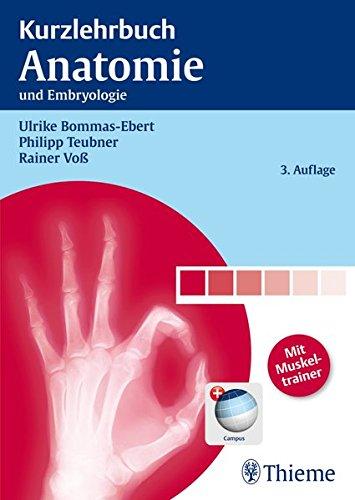 Kurzlehrbuch Anatomie: und Embryologie