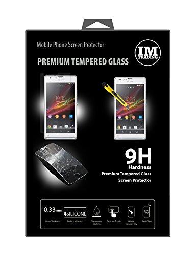 ENERGMiX Premium Tempered SCHUTZGLAS kompatibel mit Sony Xperia SP (C5303) // Panzer Hartglas Schutz Glas extrem Kratzfest Sicherheitsglas