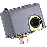 bombas - Regulador de presión aquacontrol Interruptor de Control de Presión Bomba de Agua Eléctrico de 40-60 PSI 110v-230v Poste de resorte doble ajustable para la bomba de agua de jardín de inyección