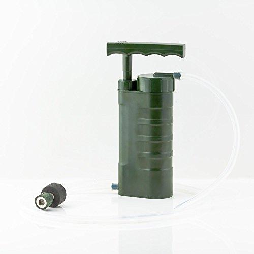 Aqua Pury Porti, der leistungsstärkste tragbare Outdoor, Survival, Krisenvorsorge und Camping Wasserfilter für Wasseraufbereitung, ideal zur Krisenvorsorge