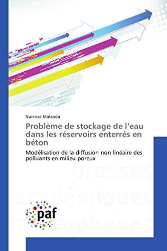 ProblEme De Stockage De L'Eau Dans Les Réservoirs Enterrés En Béton