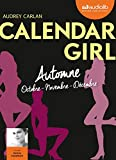 calendar girl 4 automne octobre novembre d?cembre livre audio 1cd mp3