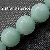Piedras preciosas perlas para la fabricacion de la joyeria, 100% natural de calidad AAA, Vendido por Bolsa 2 Hebras dentro de (Amazonita, 8mm)