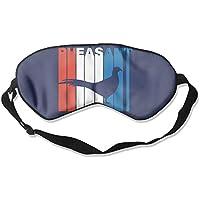 Retro Pheasant Silhouette 99% Eyeshade Blinders Sleeping Eye Patch Eye Mask Blindfold for Travel Insomnia Meditation preisvergleich bei billige-tabletten.eu