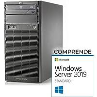 HP ML110 G6 Tower Xeon Quad Core X3430-16gb RAM - 2X 500 GB SATA - Raid - Windows Server 2019 Standard (Reacondicionado)