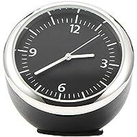 TiooDre Reloj del Coche, Mini Reloj Digital de Cuarzo Automotive decoración del Reloj del Reloj