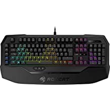 Roccat Ryos MK FX RGB Mechanische Gaming Tastatur (DE-Layout, Per-key, RGB Multicolor Tastenbeleuchtung, MX Key Switch RGB braun)