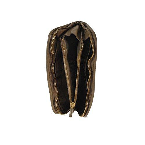 Caterina Lucchi Porte-monnaie I cuir 20 cm camel