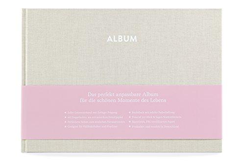 GLÜCK & SEGEN ALLES MIT LIEBE Album Pia (Cremebeige) -