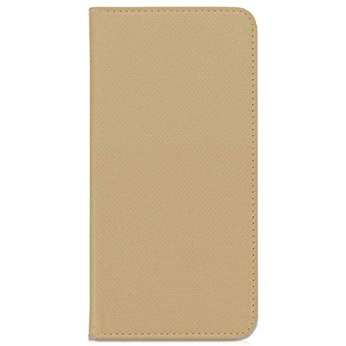 mtb more energy® Schutz-Tasche Bookstyle für Huawei Mate 10 Pro (6.0'') | Gold | Kunstleder | Klapp-Cover Hülle Wallet Case