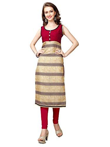 Glory Sarees Women's Silk Kurta (clothix9