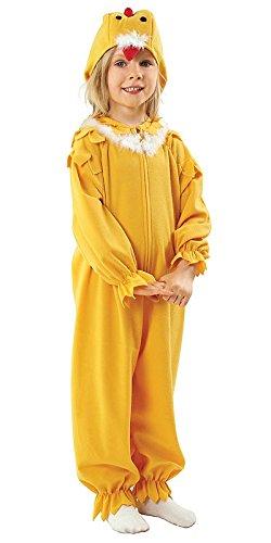 Kükenkostüm für Kinder - Küken Kostüm Kinder Jungen und Mädchen Fasching Karneval - Chicken Kostüm Kind ()