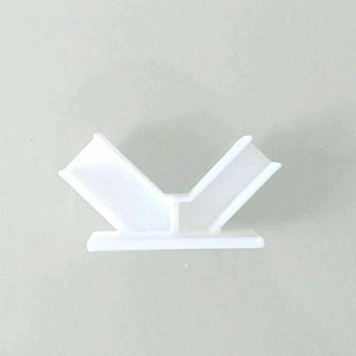 LaDicha LaDicha LaDicha Support D'Antenne Pour Frsky X8R X6R L9R Récepteur 3D Imprimé Rc Drone Fpv Racing Multi Rotor - Blanc | Porter-résistance  e3be38