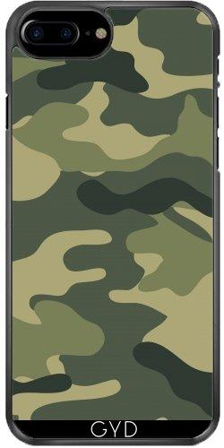 Leder Flip Case Tasche Hülle für Apple iPhone 6/6S - Camouflage Füße by wamdesign Plastique Rigide
