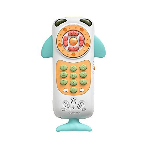 Touch-tone-telefon Telefon (Heoolstranger Fernhandy-Spielzeug, Multifunktionales Puzzlespiel Frühes Pädagogisches Smartphone, Touch Simulierte Touch Screen Telefon-Spielwaren Mit Ton-Musik Für 12-monatiges Baby)