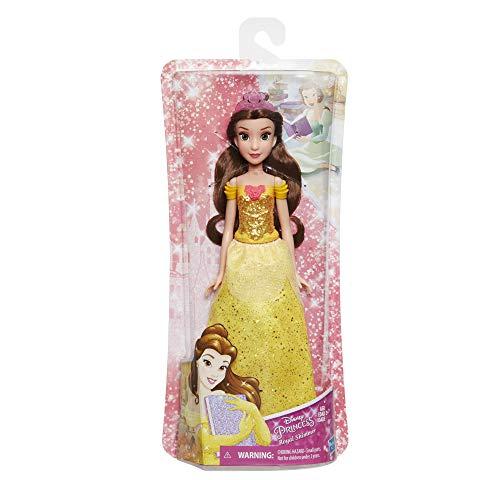 Hasbro E4159ES2 - Disney Prinzessin, Schimmerglanz Belle, Puppe