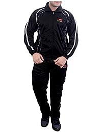 Krystle Plain Striped Men'S Track Suit