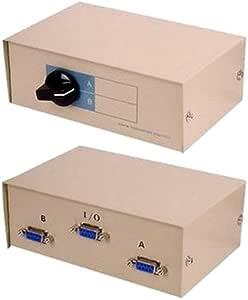 Seriell Umschalter 9 Pin Rs232 2 Wege Elektronik