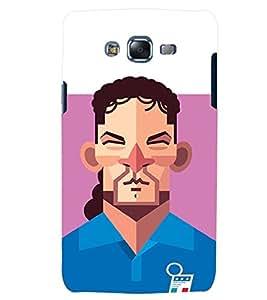 TOUCHNER (TN) Football Player Back Case Cover for Samsung Galaxy J7::Samsung Galaxy J7 J700F