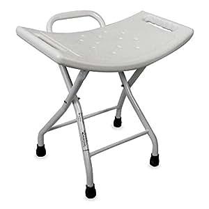 duschstuhl mit r ckenlehne zusammenfaltbarer hocker f r die dusche ergonomischen sitz und. Black Bedroom Furniture Sets. Home Design Ideas