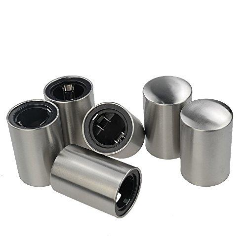 Gitany 6er-Set Magnet-automatischer Flaschenöffner, Automatischer Bieröffner