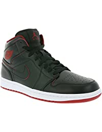 lowest price c531d db0d9 Nike Air Jordan 1 Mid BG Schuhe Kinder Sneaker Sportschuhe Schwarz 554725  028